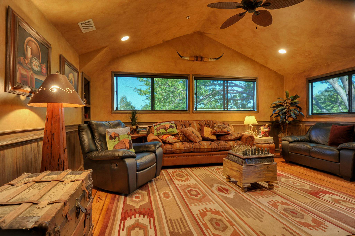 cabin-living-room